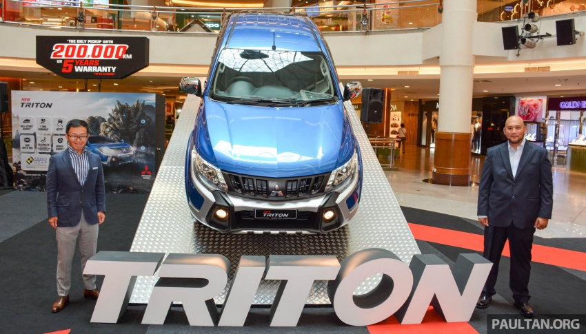 2017 Mitsubishi Triton receives ESP, seven airbags and five-year/200,000 km warranty – RM77k-RM131k Image #641828