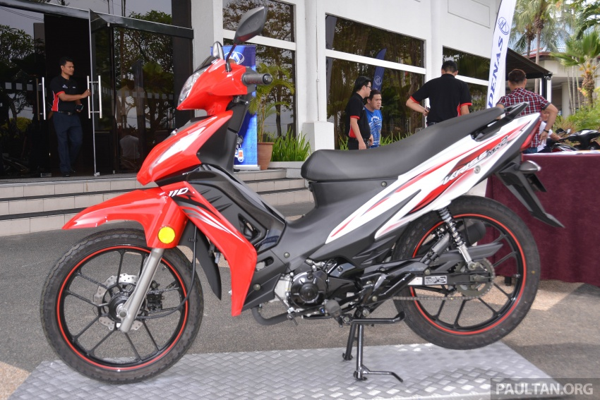 2017 Modenas Kriss MR2 launched in M'sia, RM4,123 Image #641688