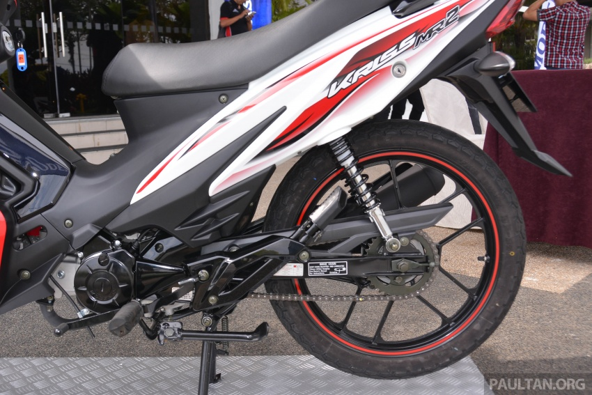 2017 Modenas Kriss MR2 launched in M'sia, RM4,123 Image #641691