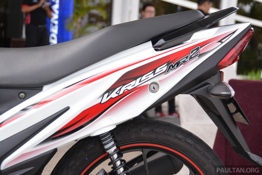 2017 Modenas Kriss MR2 launched in M'sia, RM4,123 Image #641694
