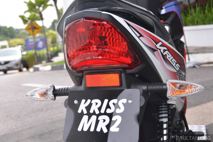 2017 Modenas Kriss MR2 launched in M'sia, RM4,123 Image #641697