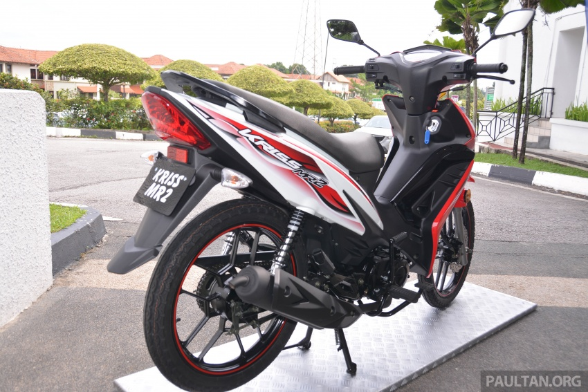 2017 Modenas Kriss MR2 launched in M'sia, RM4,123 Image #641701