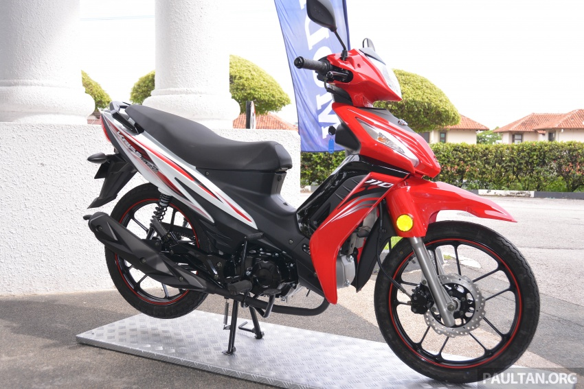 2017 Modenas Kriss MR2 launched in M'sia, RM4,123 Image #641680