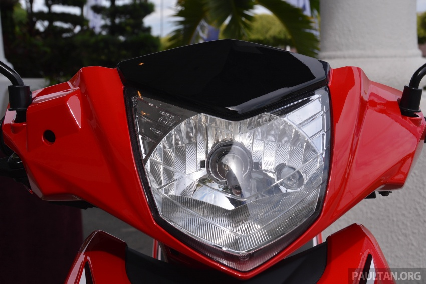 2017 Modenas Kriss MR2 launched in M'sia, RM4,123 Image #641717