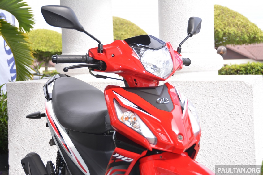 2017 Modenas Kriss MR2 launched in M'sia, RM4,123 Image #641681