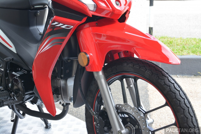 2017 Modenas Kriss MR2 launched in M'sia, RM4,123 Image #641726