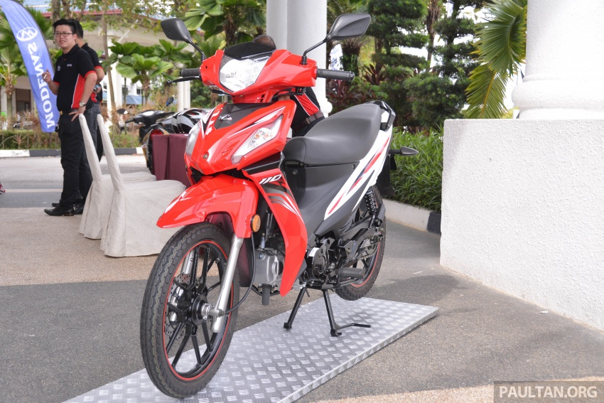 2017 Modenas Kriss MR2 launched in M'sia, RM4,123 Image #641683