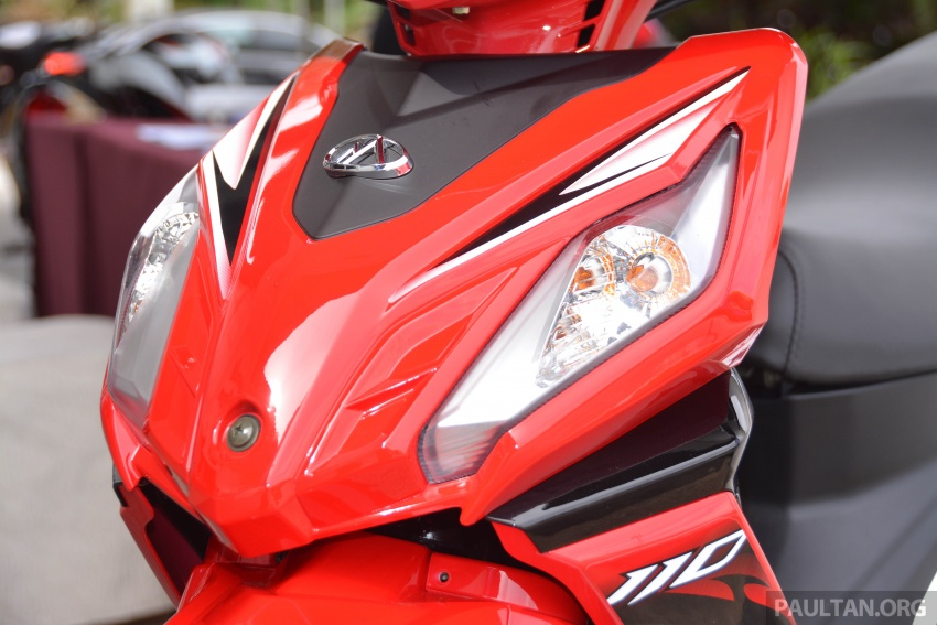 2017 Modenas Kriss MR2 launched in M'sia, RM4,123 Image #641684