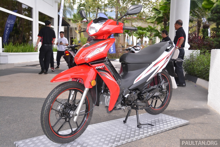 2017 Modenas Kriss MR2 launched in M'sia, RM4,123 Image #641686