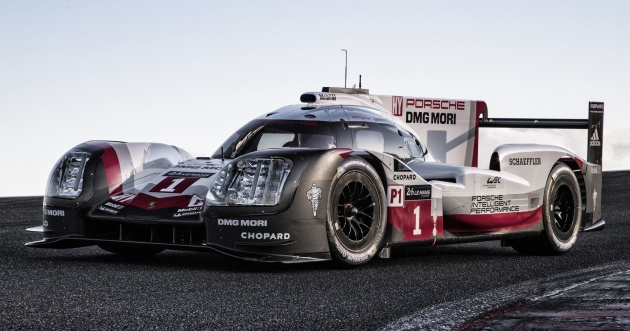 2017 Porsche 919 Hybrid 900 Hp Lmp1 Race Car