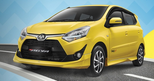 2017 Toyota Agya and Daihatsu Ayla facelift launched in Indonesia ...