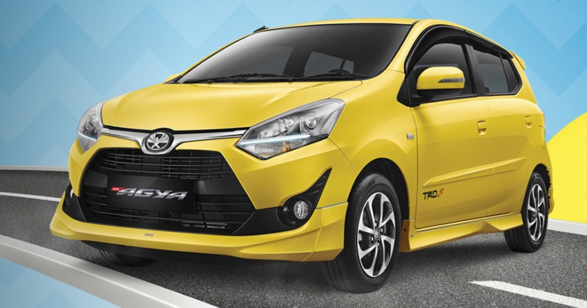 2017 Toyota Agya and Daihatsu Ayla facelift launched in Indonesia – new 1.2L 3NR-FE four-cylinder engine Image #642885
