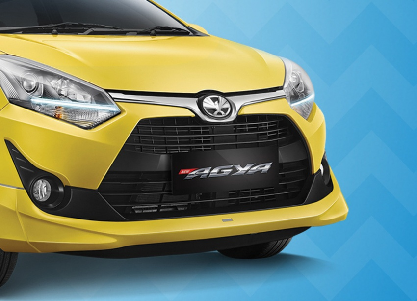 2017 Toyota Agya and Daihatsu Ayla facelift launched in Indonesia – new 1.2L 3NR-FE four-cylinder engine Image #642892