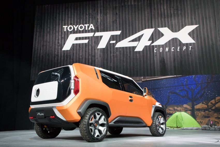 "Toyota FT-4X – ""casualcore"" crossover for millennials Image #645572"