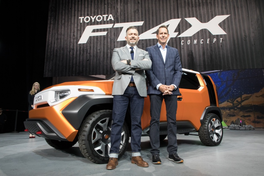"""Toyota FT-4X – """"casualcore"""" crossover for millennials Image #645574"""