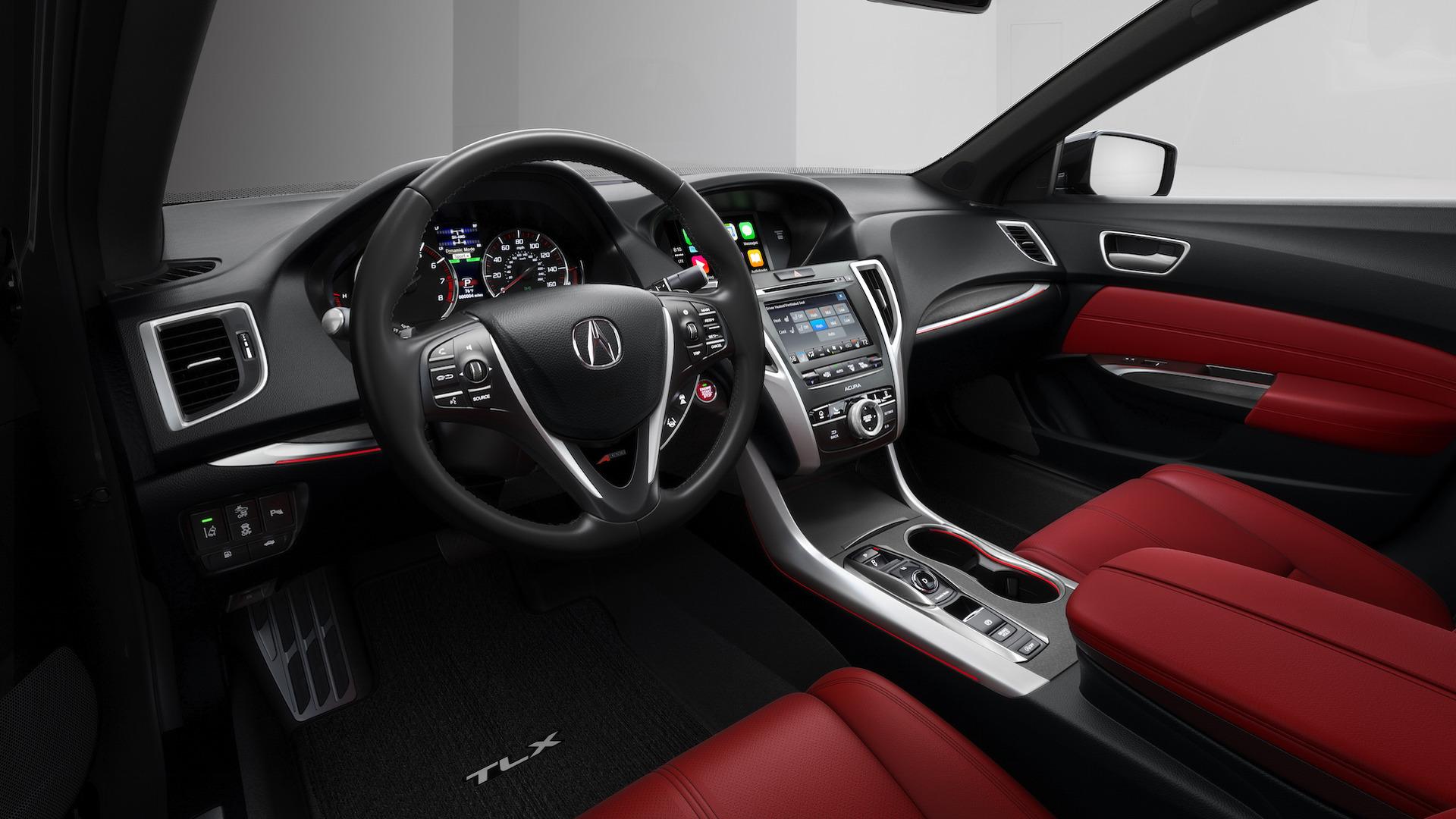 2018 acura tlx revealed new sporty a spec trim image 644077. Black Bedroom Furniture Sets. Home Design Ideas