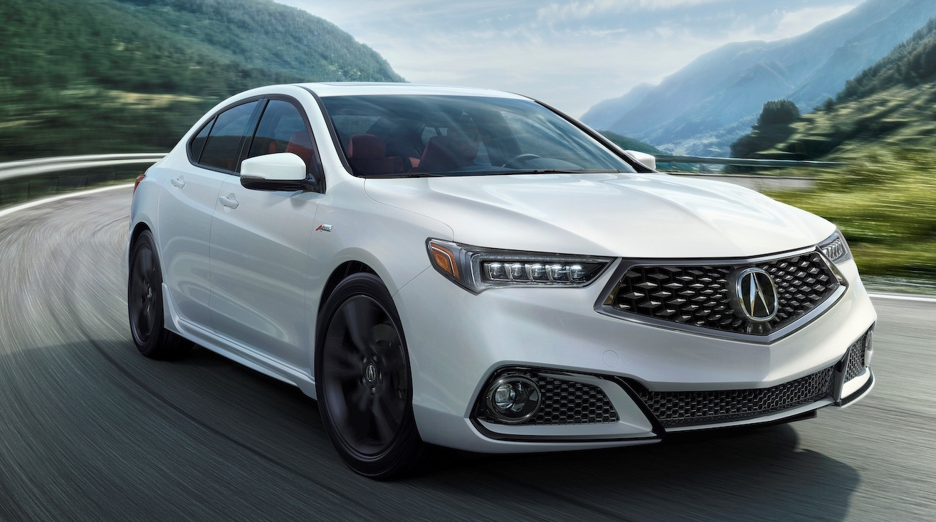 2018 acura tlx revealed new sporty a spec trim. Black Bedroom Furniture Sets. Home Design Ideas