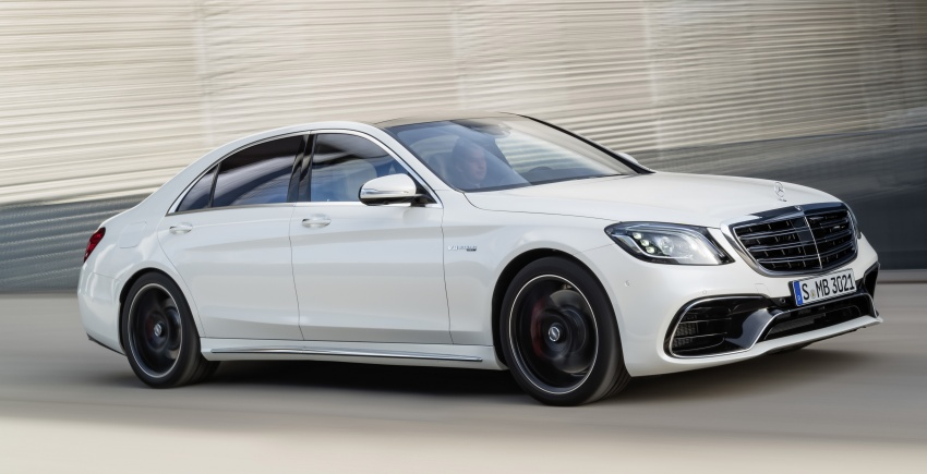 W222 Mercedes-Benz S-Class facelift debuts – new engines, enhanced styling, additional technologies Image #647595