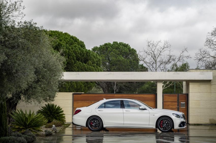 W222 Mercedes-Benz S-Class facelift diperkenalkan – enjin baharu, imej dipertingkat, teknologi ditambah Image #647706