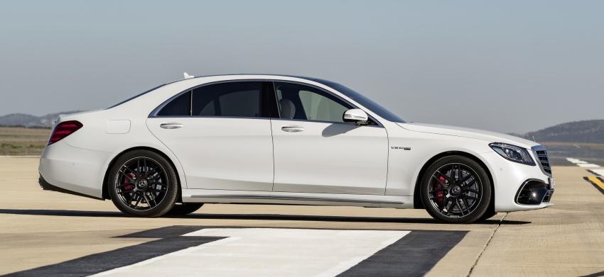 W222 Mercedes-Benz S-Class facelift diperkenalkan – enjin baharu, imej dipertingkat, teknologi ditambah Image #647709