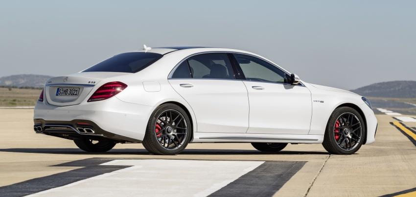 W222 Mercedes-Benz S-Class facelift diperkenalkan – enjin baharu, imej dipertingkat, teknologi ditambah Image #647710