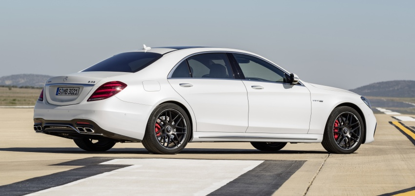 W222 Mercedes-Benz S-Class facelift debuts – new engines, enhanced styling, additional technologies Image #647617