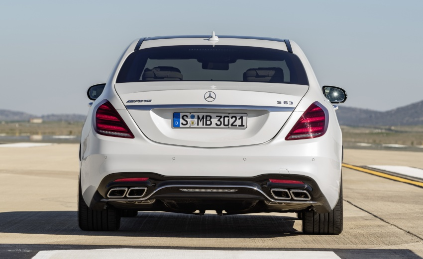 W222 Mercedes-Benz S-Class facelift debuts – new engines, enhanced styling, additional technologies Image #647618