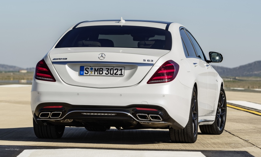 W222 Mercedes-Benz S-Class facelift debuts – new engines, enhanced styling, additional technologies Image #647619