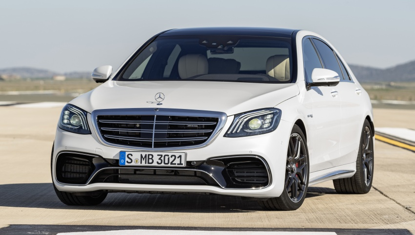 W222 Mercedes-Benz S-Class facelift debuts – new engines, enhanced styling, additional technologies Image #647620
