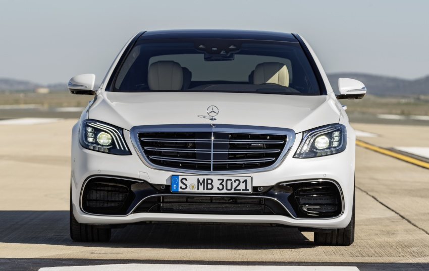 W222 Mercedes-Benz S-Class facelift debuts – new engines, enhanced styling, additional technologies Image #647621