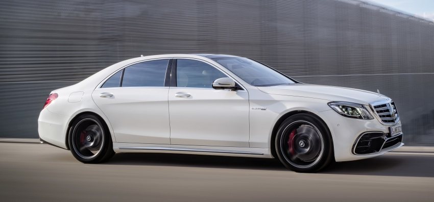 W222 Mercedes-Benz S-Class facelift debuts – new engines, enhanced styling, additional technologies Image #647596