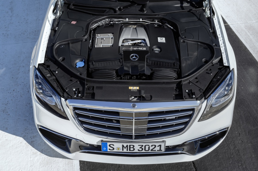W222 Mercedes-Benz S-Class facelift debuts – new engines, enhanced styling, additional technologies Image #647629