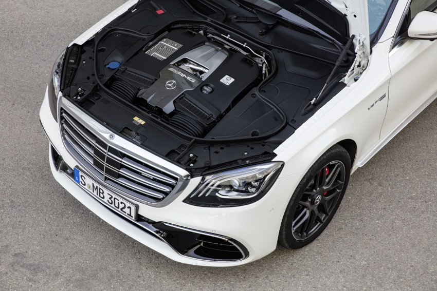 W222 Mercedes-Benz S-Class facelift debuts – new engines, enhanced styling, additional technologies Image #647630