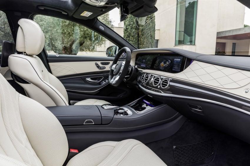 W222 Mercedes-Benz S-Class facelift diperkenalkan – enjin baharu, imej dipertingkat, teknologi ditambah Image #647721