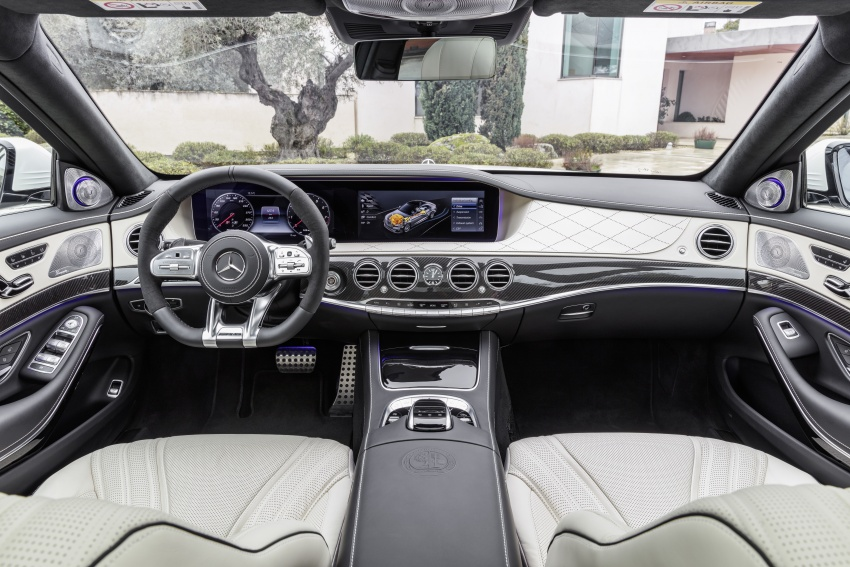 W222 Mercedes-Benz S-Class facelift diperkenalkan – enjin baharu, imej dipertingkat, teknologi ditambah Image #647722
