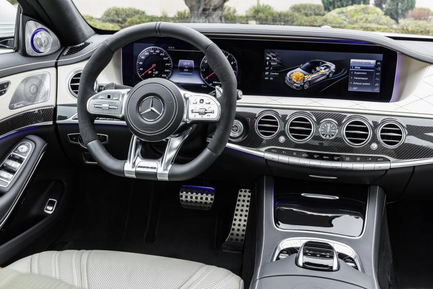 W222 Mercedes-Benz S-Class facelift diperkenalkan – enjin baharu, imej dipertingkat, teknologi ditambah Image #647723