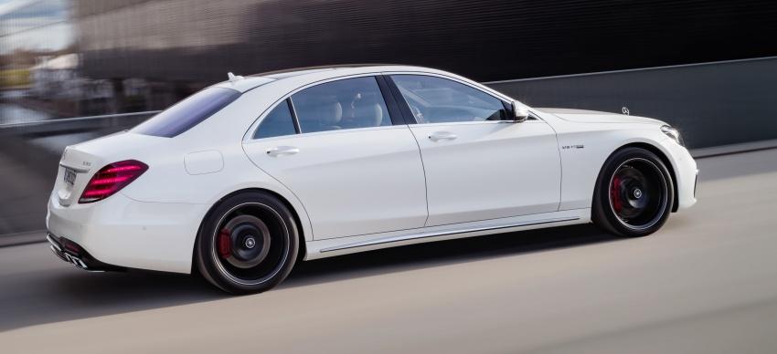 W222 Mercedes-Benz S-Class facelift diperkenalkan – enjin baharu, imej dipertingkat, teknologi ditambah Image #647696