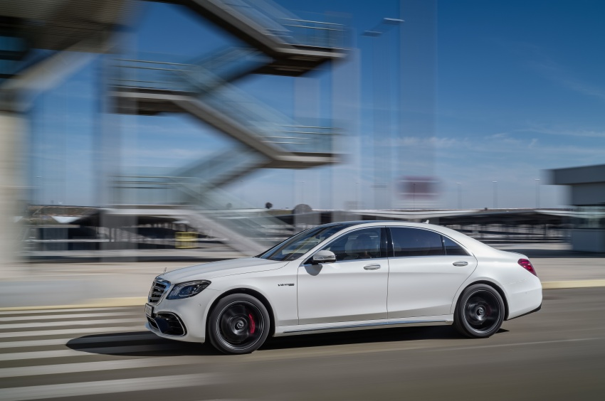 W222 Mercedes-Benz S-Class facelift debuts – new engines, enhanced styling, additional technologies Image #647600