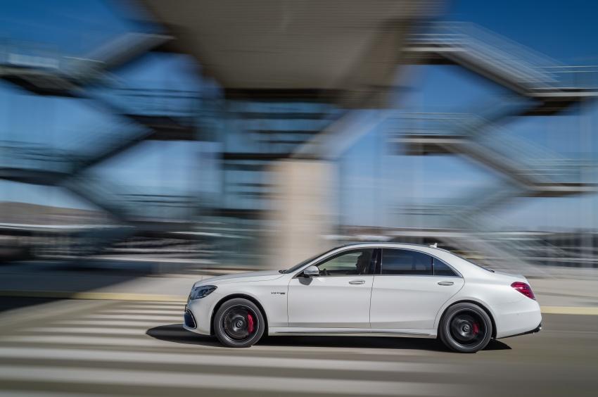 W222 Mercedes-Benz S-Class facelift diperkenalkan – enjin baharu, imej dipertingkat, teknologi ditambah Image #647698