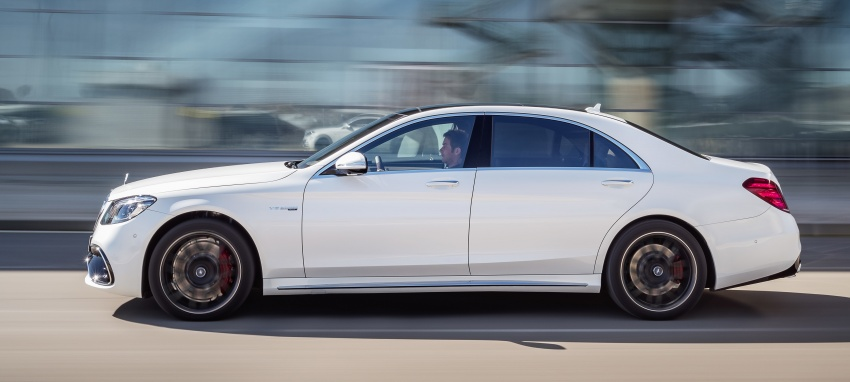 W222 Mercedes-Benz S-Class facelift debuts – new engines, enhanced styling, additional technologies Image #647602