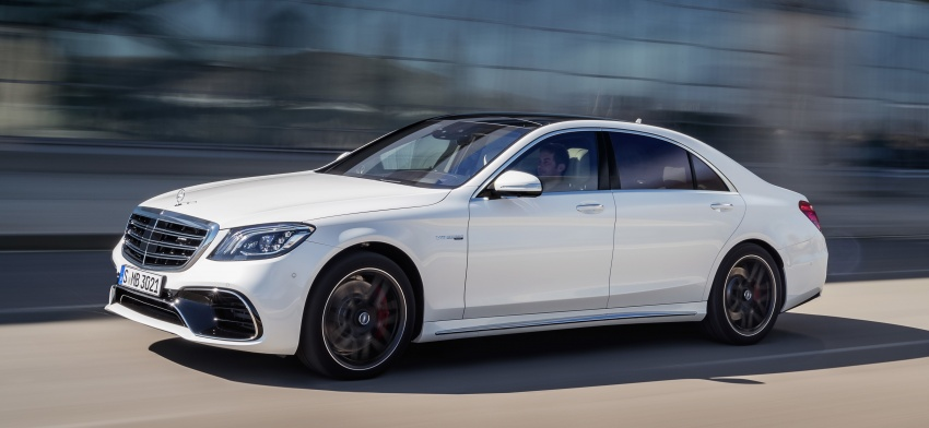 W222 Mercedes-Benz S-Class facelift debuts – new engines, enhanced styling, additional technologies Image #647603