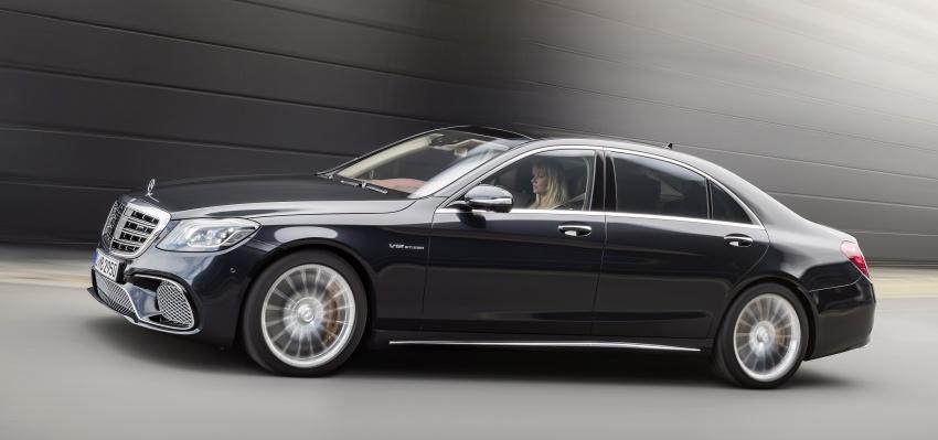 W222 Mercedes-Benz S-Class facelift diperkenalkan – enjin baharu, imej dipertingkat, teknologi ditambah Image #647724