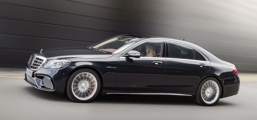 W222 Mercedes-Benz S-Class facelift debuts – new engines, enhanced styling, additional technologies Image #647577