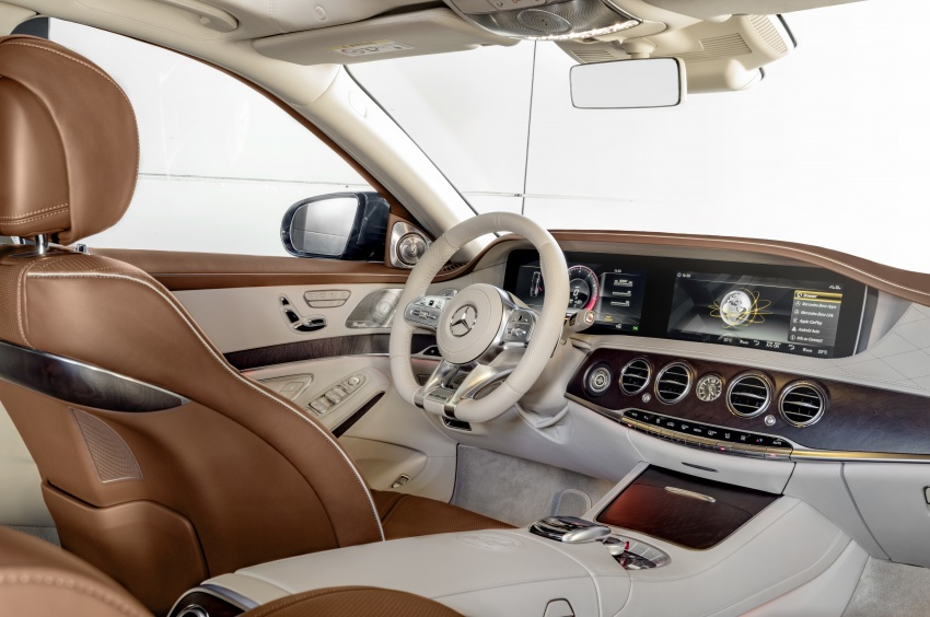 W222 Mercedes-Benz S-Class facelift debuts – new engines, enhanced styling, additional technologies Image #647586