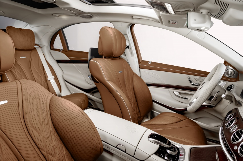 W222 Mercedes-Benz S-Class facelift diperkenalkan – enjin baharu, imej dipertingkat, teknologi ditambah Image #647734