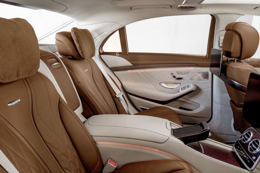 W222 Mercedes-Benz S-Class facelift diperkenalkan – enjin baharu, imej dipertingkat, teknologi ditambah Image #647735