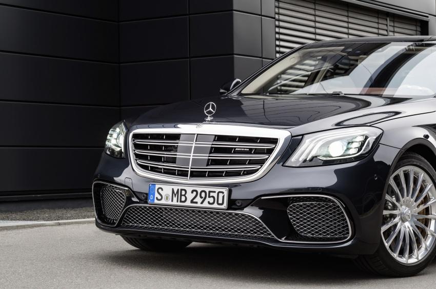 W222 Mercedes-Benz S-Class facelift diperkenalkan – enjin baharu, imej dipertingkat, teknologi ditambah Image #647736