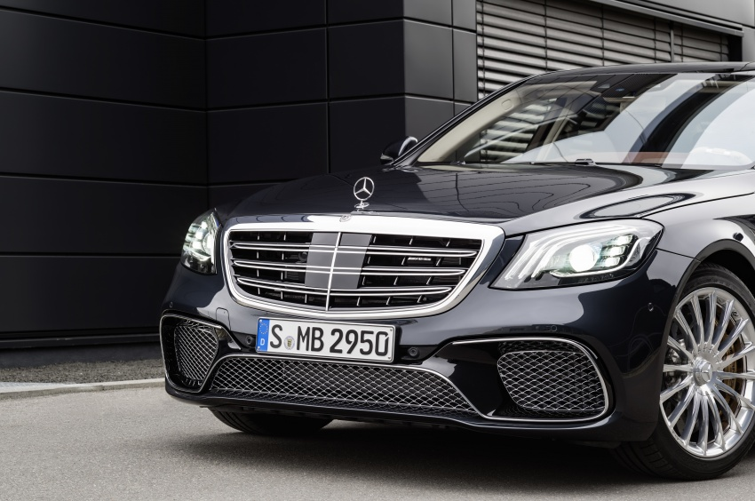 W222 Mercedes-Benz S-Class facelift debuts – new engines, enhanced styling, additional technologies Image #647589