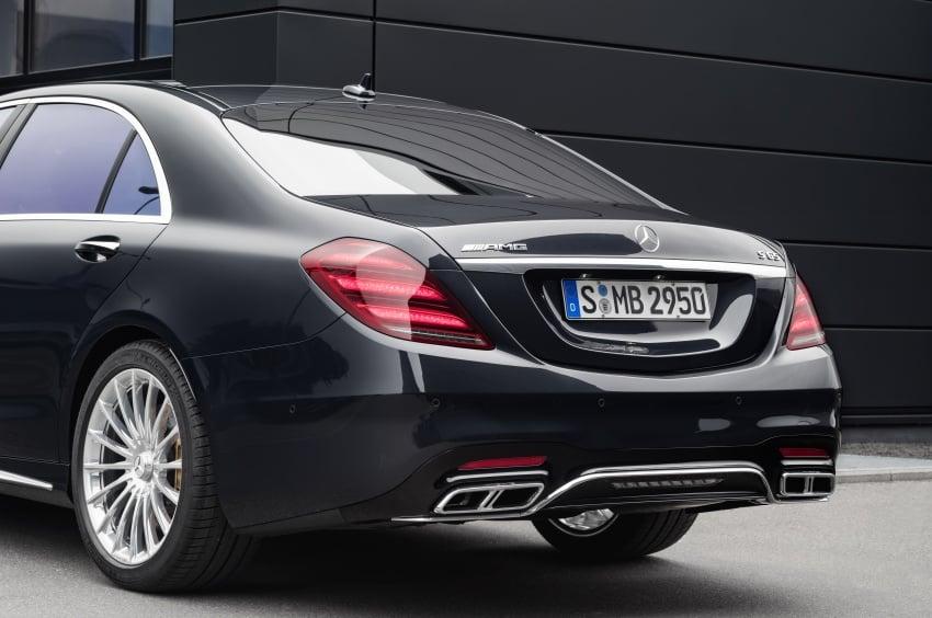 W222 Mercedes-Benz S-Class facelift diperkenalkan – enjin baharu, imej dipertingkat, teknologi ditambah Image #647737