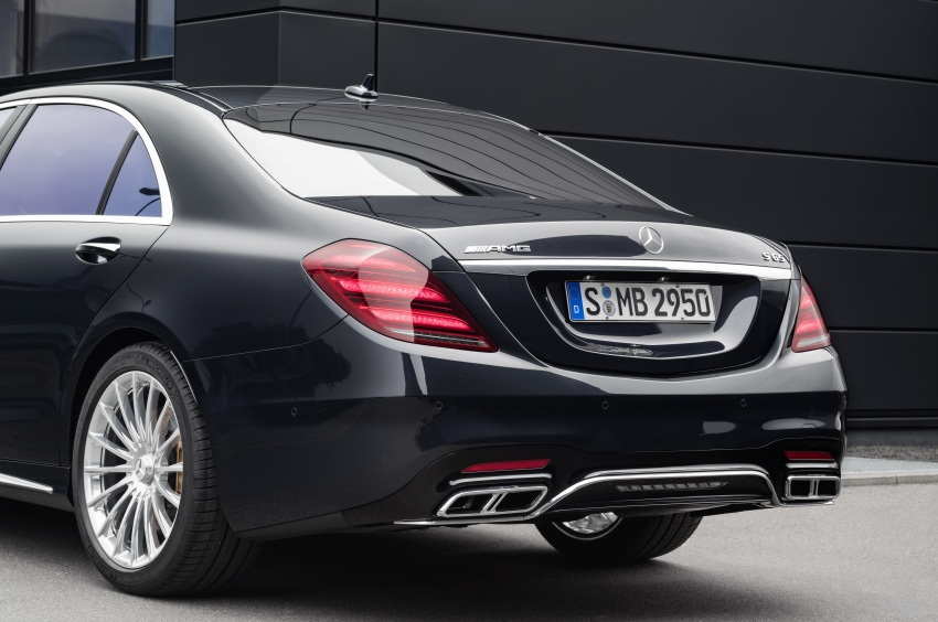 W222 Mercedes-Benz S-Class facelift debuts – new engines, enhanced styling, additional technologies Image #647590
